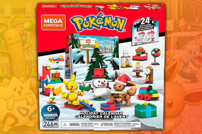 Pokemon adventskalender 2021