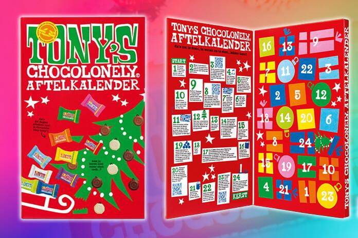 Tony's Chocolonely adventskalender 2021