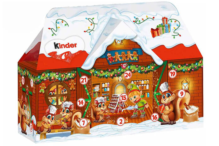 Kinder Mix 3D adventskalender